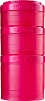 Набор контейнеров Blender Bottle ProStak Expansion Pak Full Color / BB-PREX-FPIN (малиновый) -