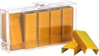 Скобы канцелярские Kangaro №10 (1000шт, желтый) -