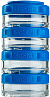 Набор контейнеров Blender Bottle GoStak Tritan / BB-GS40-BLU (синий) -