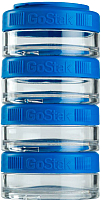 Набор контейнеров Blender Bottle GoStak Tritan / BB-G40-BLUB (синий) -