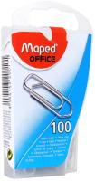 Скрепки Maped 25мм / 320011 (100шт, серебристый) -