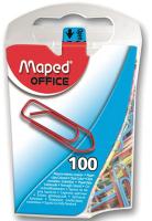 Скрепки Maped 25мм / 321011 (100шт, ассорти) -