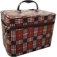 Кейс для косметики MONAMI CX7447-1 (коричневый) -