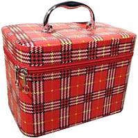 Кейс для косметики MONAMI CX7447-1 (красный) -