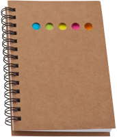 Блокнот Easy Gifts Dunmore / 827001 (коричневый) -