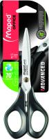 Ножницы канцелярские Maped Advanced Green / 496110 (17см, черный) -