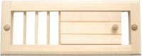 Решетка вентиляционная для бани СаунаКомплект Малая М-16 -