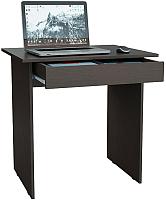 Письменный стол MFMaster Милан-2Я / МСТ-СДМ-2Я-ВМ-16 (венге) -