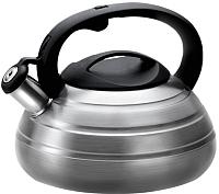 Чайник со свистком Lara LR00-80 SS (матовый) -