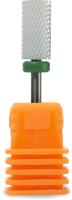 Фреза для маникюра PALU С цилиндр (зеленый/грубый) -