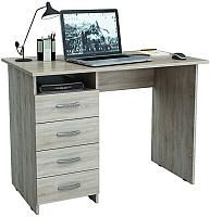 Письменный стол MFMaster Милан (0120) / МСТ-СДМ-00-ДС-03 (дуб сонома) -