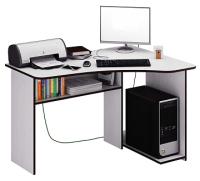Компьютерный стол MFMaster Триан-1 правый / МСТ-УСТ-01-БТ-16-ПР (белый) -