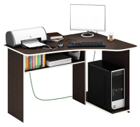 Компьютерный стол MFMaster Триан-1 правый / МСТ-УСТ-01-ВМ-16-ПР  (венге) -