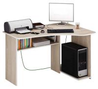Компьютерный стол MFMaster Триан-1 правый / МСТ-УСТ-01-ДС-16-ПР (дуб сонома) -