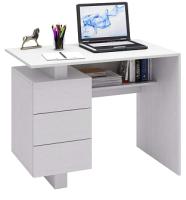 Письменный стол MFMaster Ренцо-1 / МСТ-СРЕ-01-БТ-16 (белый) -