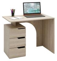 Письменный стол MFMaster Нейт-1 / МСТ-СТН-01-ДС-16 (дуб сонома) -