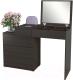Туалетный столик с зеркалом MFMaster Нуар-6 / МСТ-ТСН-06-ВМ-16 (венге) -
