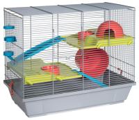 Клетка для грызунов Voltrega 001149G (серый) -