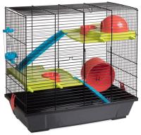Клетка для грызунов Voltrega 001949N (черный) -