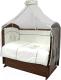 Комплект постельный в кроватку Топотушки Аморе Мио 7 предметов / 737М -