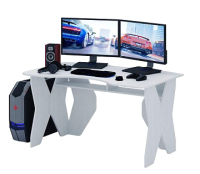 Компьютерный стол MFMaster Таунт-1 / МСТ-СИТ-01-БТ-16 (белый) -