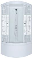Душевая кабина Triton Стандарт Б Квадраты с душевым набором ДН4 90x90 -