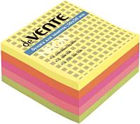 Блок для записей deVente На клейкой основе / 2010335 (5 цветов) -
