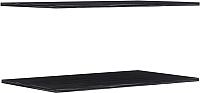 Комплект полок для шкафа Уют Сервис Гарун П103 (2шт, графит) -