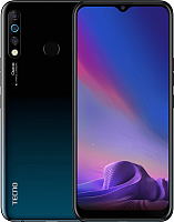 Смартфон Tecno Camon 12 4/64GB / CC7 (Dark Jade) -