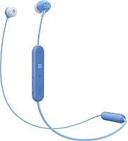 Наушники-гарнитура Sony WI-C300 / WIC300L.E (синий) -