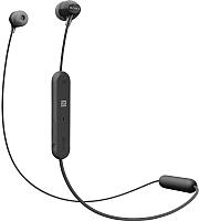 Наушники-гарнитура Sony WI-C300 / WIC300B.E (черный) -