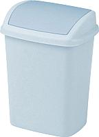 Контейнер для мусора Curver Dominik 05312-591-65 / 175920 (серый люкс/гранит) -