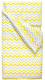 Комплект постельный детский Martoo Comfy B / CMB-P-3-YGZ (желтый/серый, зигзаг) -