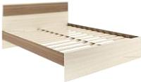 Полуторная кровать АТЛАНТ Next-72 140x200 (ясень шимо темный/ясень шимо светлый) -