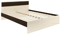 Двуспальная кровать АТЛАНТ Next-73 160х200 (венге магия/сосна карелия) -