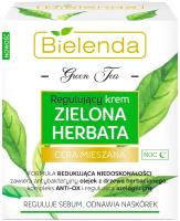 Крем для лица Bielenda Зеленый чай регулирующий ночной (50мл) -