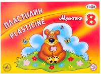Пластилин ГАММА Мультики / 280016 (8цв) -