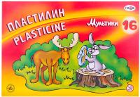 Пластилин ГАММА Мультики / 280027 (16цв) -