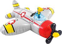 Надувная игрушка для плавания Intex Самолет / 57537NP (серый) -