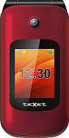 Мобильный телефон Texet TM-B202 (красный) -