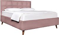 Двуспальная кровать ДеньНочь Эрика K04 KR00-03/1L 160x200 (KN27/KN27) -