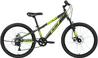 Велосипед Forward Altair 24 D 2020 / RBKT01647005 (11, зеленый) -