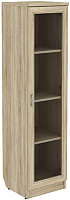 Шкаф-пенал с витриной Уют Сервис Гарун 212 (дуб сонома) -