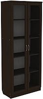 Шкаф с витриной Уют Сервис Гарун 218 (венге) -