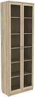 Шкаф с витриной Уют Сервис Гарун 224 (дуб сонома) -