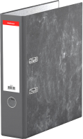 Папка-регистратор Erich Krause Economy мрамор / 33112 (серый) -