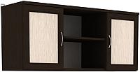 Шкаф навесной Уют Сервис Гарун А01 (венге) -