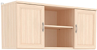 Шкаф навесной Уют Сервис Гарун А01 (молочный дуб) -