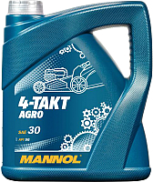 Моторное масло Mannol 4-Takt Agro SAE 30 / MN7203-4 (4л) -