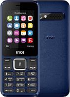 Мобильный телефон Inoi 242 (темно-синий) -